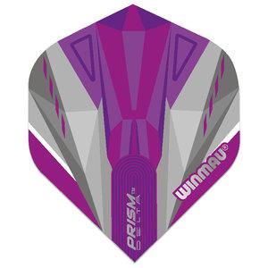 Winmau Prism Delta Purple & White NO2