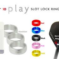 Target Svarta lås ringar