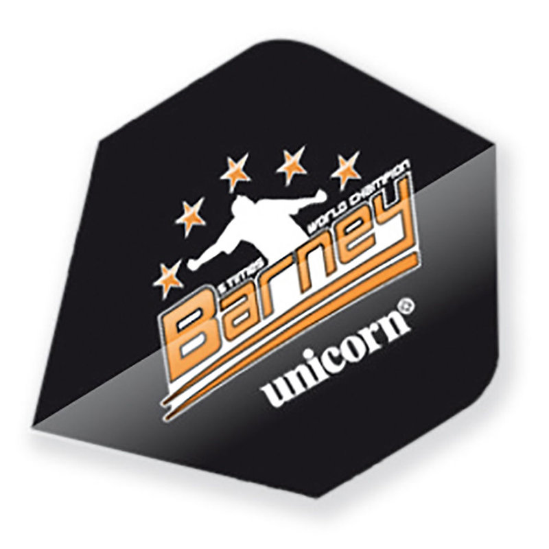 Unicorn Raymond van Barneveld Black Standard with Stars