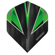 Winmau Prism Alpha Black & Green