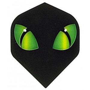 Ruthless Black Green Eyes