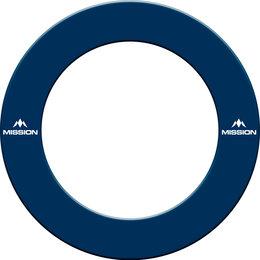 Mission Dartboard Surround  with Logo  Blue