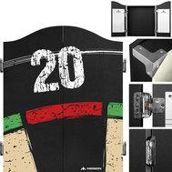 Mission Dartboard Cabinet Area 501 - Double Top