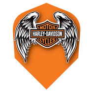 Harley Davidson Orange with Wings