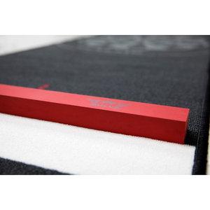 Bulls matta med svart kant Soft med  Inbyggd Kastlinje 300x67