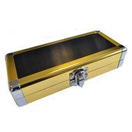 Designa Aluminium Dartfodral Guld