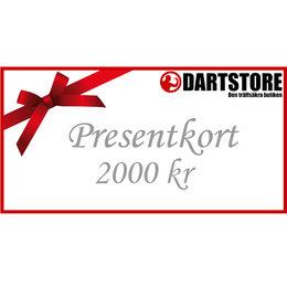 Gift card 2000 kr