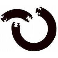 Bulls Jigsaw Surround Black