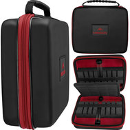 Mission Freedom Luxor Darts Case Black/Red