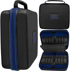 Mission Freedom Luxor Darts Case Black/Blue
