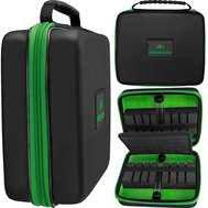 Mission Freedom Luxor Darts Case Black/Green