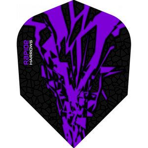 Harrows Rapide X Purple NO6 Shape