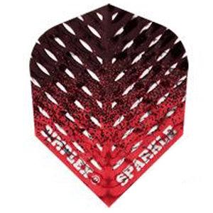 Harrows Dimplex Sparkle Fade Black & Red