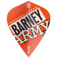 Target Barney Army Pro Ultra Orange Kite