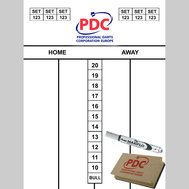 PDC Whiteboard with Pen & Eraser