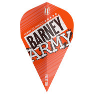 Target Barney Army Pro Ultra Orange Vapor