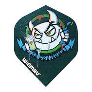 Winmau Mega Standard Green Graffiti