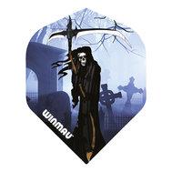 Winmau Mega Standard Blue Grim Reaper