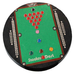Dartboard Snooker