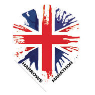 Harrows Marathon Union Jack Splashed