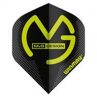 Winmau  Michael Van Gerwen Mega Standard Design Black