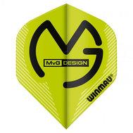 Winmau  Michael Van Gerwen Mega Standard Design Green