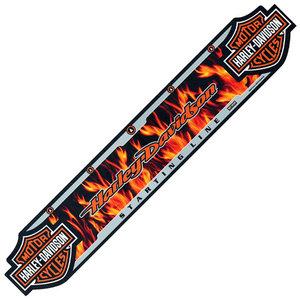 Harley Davidson Throwline Flames