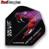 Red Dragon Peter Wright Snakebite Svart/Lila