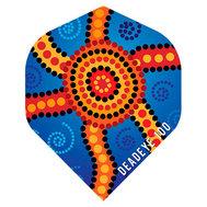 Deadeye Aboriginal  Blue Star