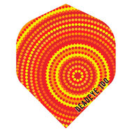 Deadeye Aboriginal  Orange Circles