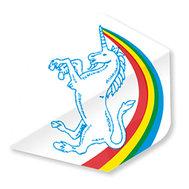 Unicorn Regnbåge Enhörning Vit