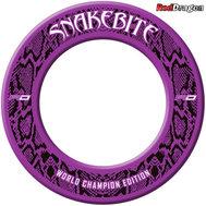 Red Dragon Snakebite World Champion Edition Väggskydd Lila