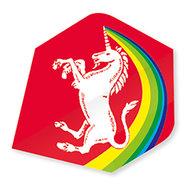 Unicorn Rainbow Unicorn Red