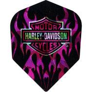 Harley Davidson Rosa blixtar