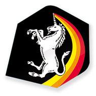 Unicorn Regnbåge Enhörning Svart