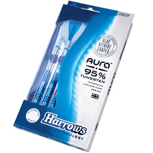 Harrows Aura Blue Nitride Straight 26g A2