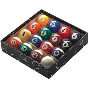 "POWERGLIDE 1""7/8' (47,5MM) POOL BALLS - SPOTS & STRIPES"