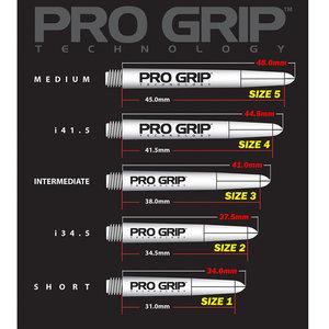 Target Pro Grip SPIN Röda 34,5mm