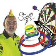 Red Dragon Peter Wright Snakebite Darts Practice Rings