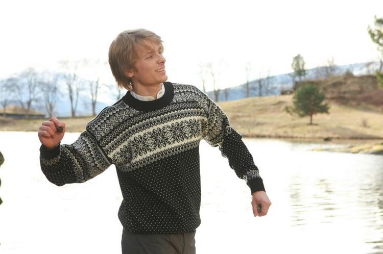 Lofoten Sweater - Black & White