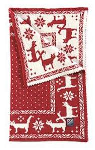 Cat's Blanket - Red & White
