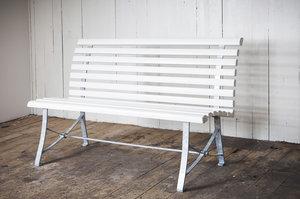 Special soffan  vit målad furu