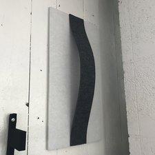 Tavla i ljuddämpande filt