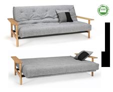 Balder 3-sits futon bäddsoffa soft spring special