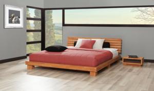 Rast futonsängram, finns i valfri storlek och träslag