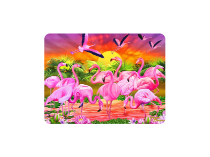 Magnet 3D Flamingos
