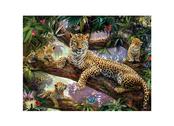 Bild 3D Leopard med Ungar