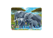 Magnet 3D Elefantfamilj