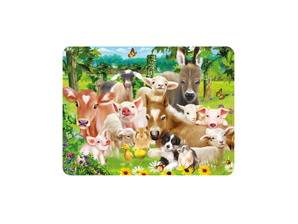 Magnet 3D Baby farm animals