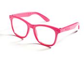 Glasses for dolls (pink & black)
